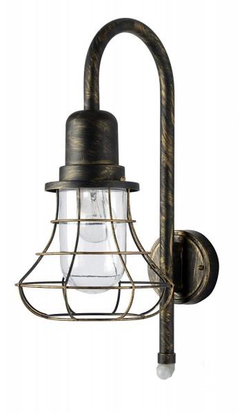 ECO-LIGHT 1901-PIR BG Außenwandleuchte BIRD mit Bewegungsmelder