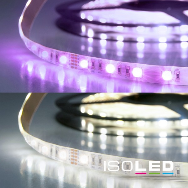 ISOLED 112734 LED SIL RGB+KW Flexband, 24V, 19W, IP20, 4in1 Chip