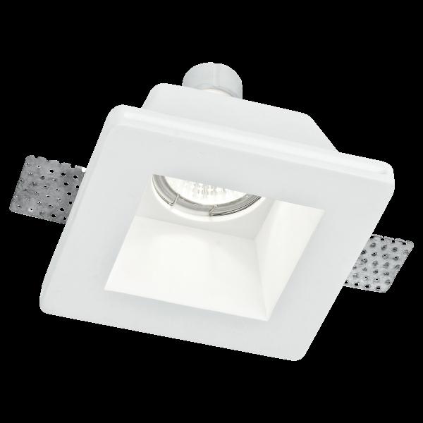 ECO-Light INC-GHOST-Q1 Design-Einbauleuchte aus Gips