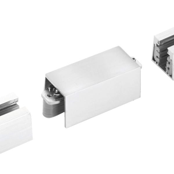 M6 Licht / HV-Track4 24510 Stromschienen - Verbinder nickel matt