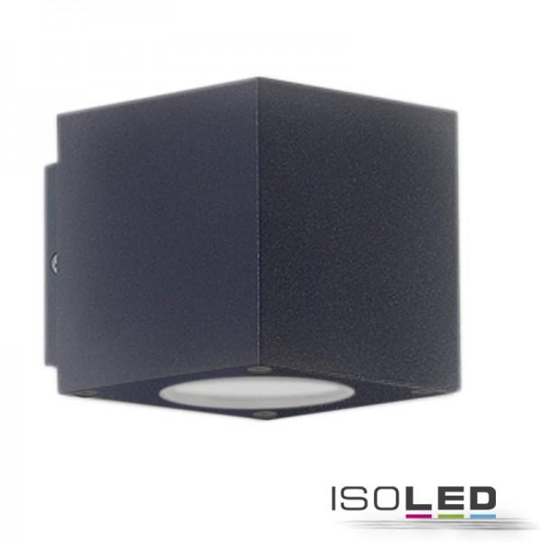112190 LED Wandleuchte Up&Down 2x3W CREE, IP54, anthrazit, warmweiß