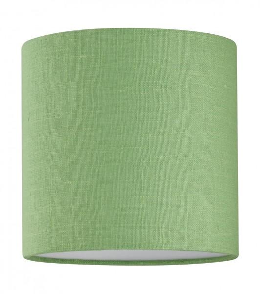 SHINE - LOFT Modular 4 70210 Lampenschirm E27, ø18x18 Leinen lime green / i.PVC weiss, Ez2cm