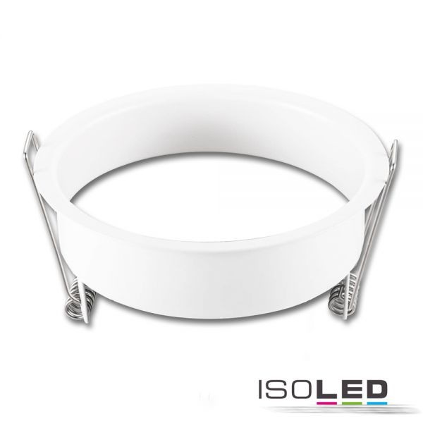 ISOLED 113351 Erweiterungsring rückversetzt rund weiß matt für Einbaustrahler Sys-68