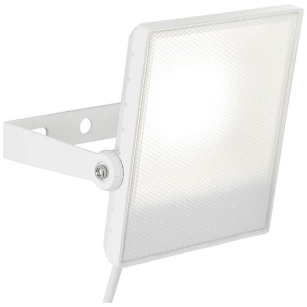 Brilliant G96323/05 Dryden Außenwandstrahler 22cm Metall/Kunststoff weiß