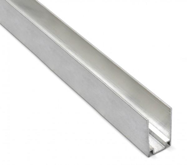 Aluminium U Profil 1m für NeonFlex Streifen