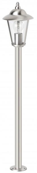 Brilliant 40385/82 Neil Außenstandleuchte Metall/Kunststoff edelstahl