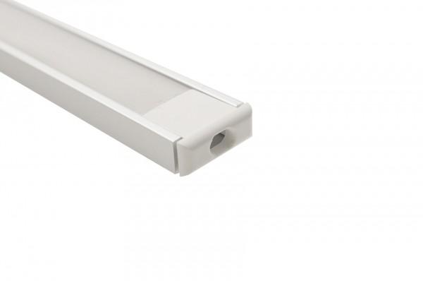 Aluminium U Profil 1m Länge 15 x 6mm