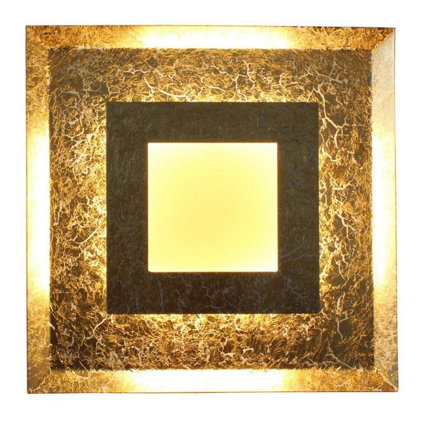 ECO-LIGHT 9021 M GO LED-Wandleuchte WINDOW gold