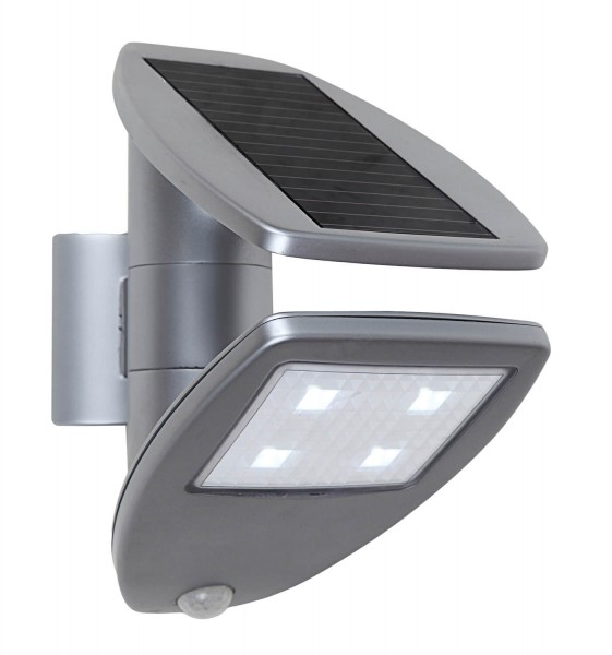 ECO-LIGHT P 9011 SI LED-Solar Wandleuchte ZETA