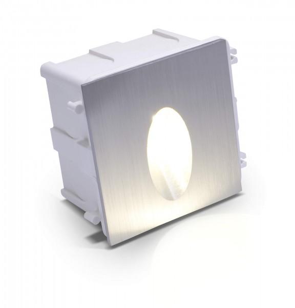 LED Einbaustrahler Elsnig warmweiß eckig 1* 3W