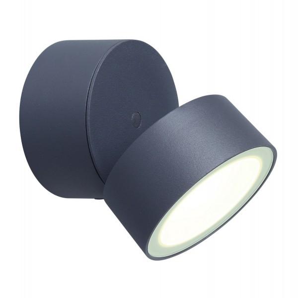 ECO-LIGHT 6260 GR LED Außenwandleuchte TRUMPET Ø 9,3 cm