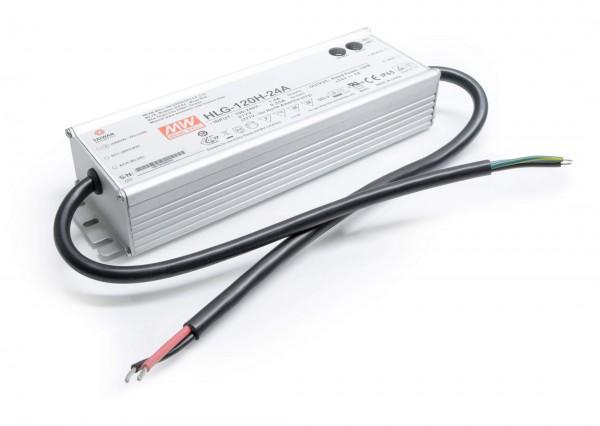 Mean Well HLG-120H-24A Installationsnetzteil 24V DC - Vo/Io Einstellbar