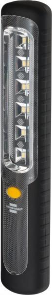 Brennenstuhl LED Taschenlampe mit Akku / Akku Handleuchte mit Dynamo zum Aufladen (mit 6 hellen SMD-