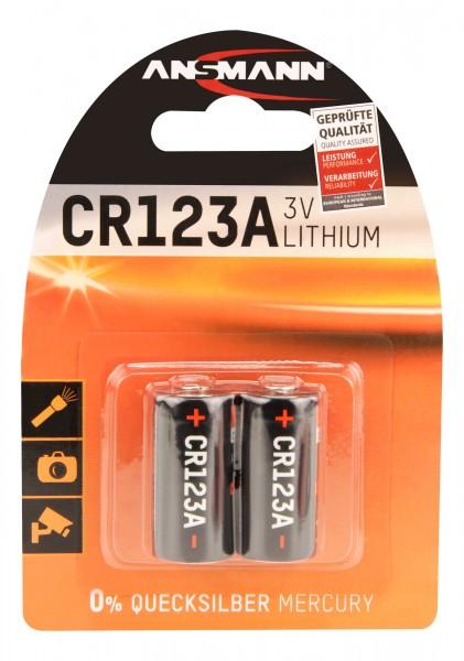 Ansmann Lithium Batterie CR123A / CR17335