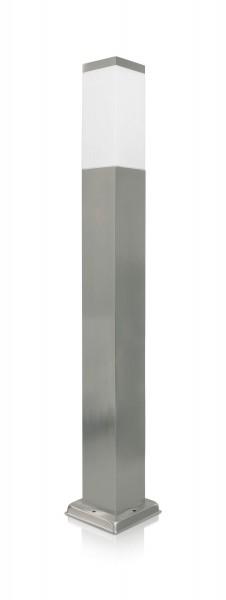 LED Wegeleuchte 80cm silber
