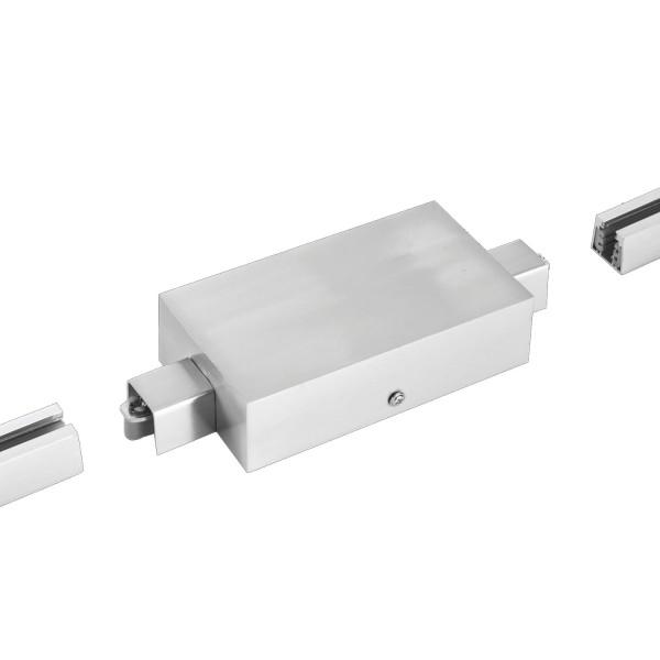 Fischer & Honsel M6 Licht / HV-Track4 25010 Stromschienen - Einspeisung nickel matt