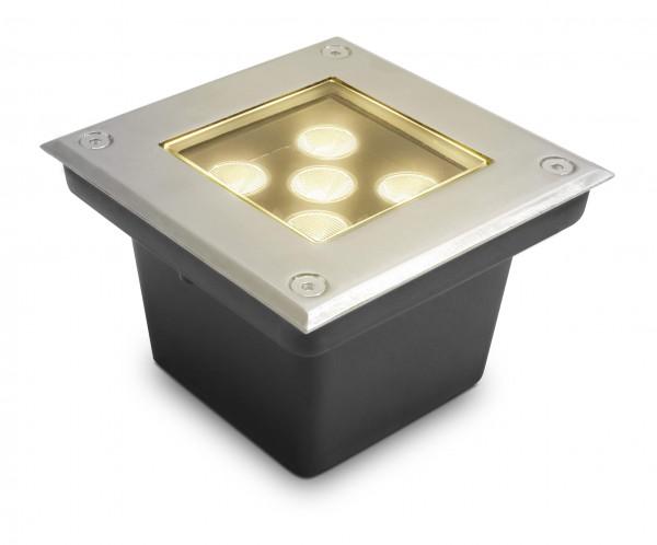 LED Bodeneinbaustrahler Taura warmweiß - 5W eckig