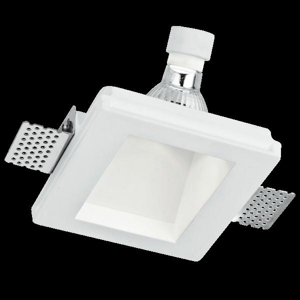 INC-GHOST-Q1D Design-Einbauleuchte aus Gips