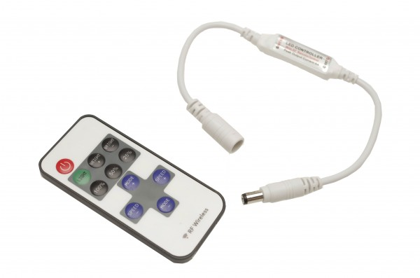 11 Tasten Fernbedienung Controller (Mini Dimmer) für einfarbige LED Streifen