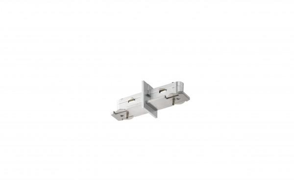 M6 Licht / HV-Track6 70302 Stromschienen - Verbinder silberfarben