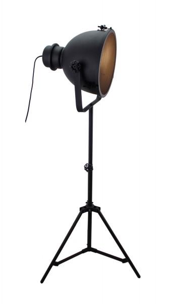 Brilliant HK19244S76 Standleuchte, 1-flammig Kiki Metall schwarz korund