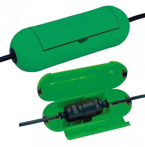 Brennenstuhl 1160400 Grün Safe-Box / Schutzbox für Verlängerungskabel