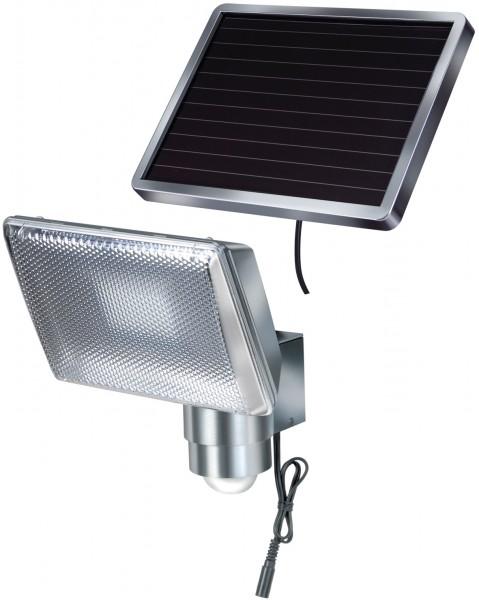 Brennenstuhl Solar LED Strahler Bewegungsmelder IP44 8xLED 0,5W 350lm 4,75m Kabel Alu
