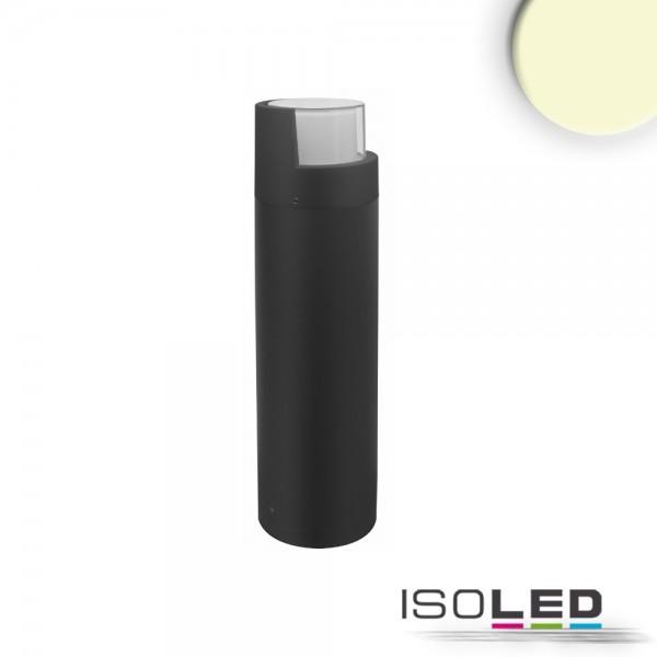 ISOLED 114283 LED Wegeleuchte Poller-6, 50cm, 6W, sandschwarz, warmweiß