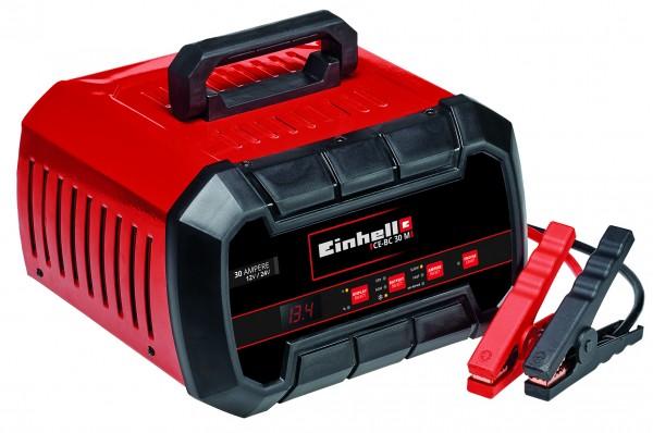 Einhell Batterie-Ladegerät CE-BC 30 M (für Gel-, AGM-, wartungsfreie/-arme Blei-Säure-Batterien, 12V