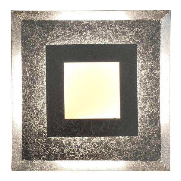 ECO-LIGHT 9021 M SI LED-Wandleuchte WINDOW silber