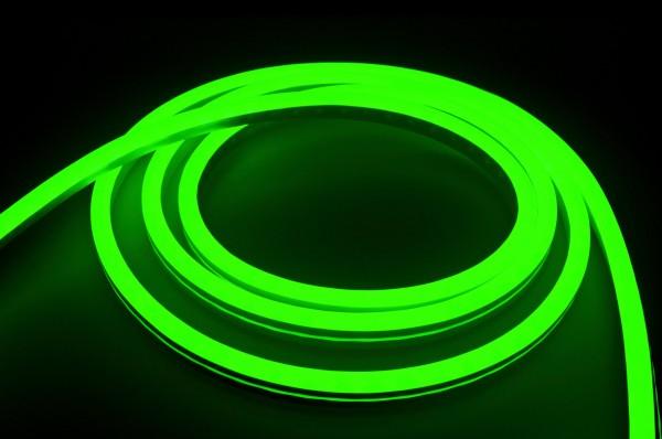230V LED NeonFlex Streifen Set | grün | Netzkabel opt 3 Längen | 1 bis 50m wählbar | IP66