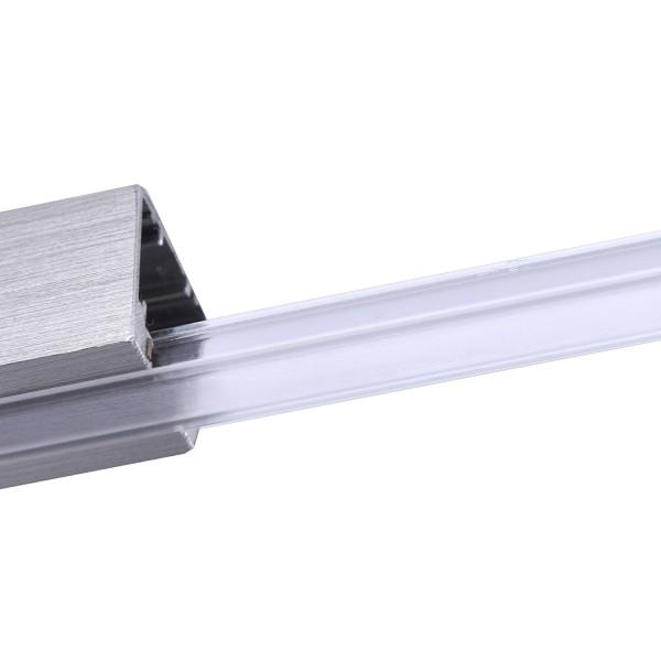 M6 Licht / HV-Track4 70022 Acrylblende zu HV-4 Profil satiniert, 1 m