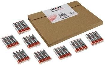 Micro-Batterien ARCAS Alkaline Typ AAA/LR03, 1,5V, 36er Flat-Pack