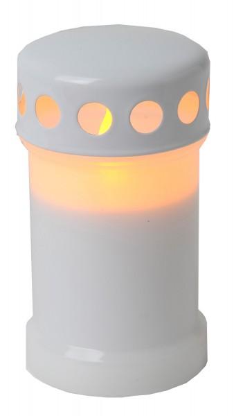 Star Trading 067-30 LED-Windlicht ,flackernd, Farbe : weiss