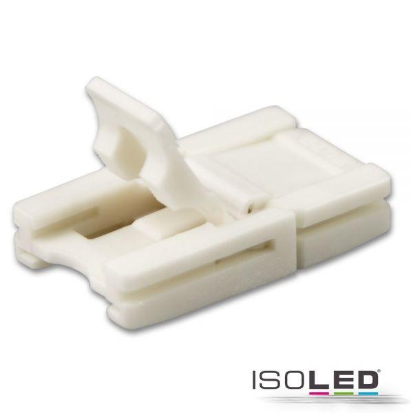 Clip-Verbinder für 2-pol. IP20 Flexstripes mit Breite 10mm, Pitch-Abstand >8mm