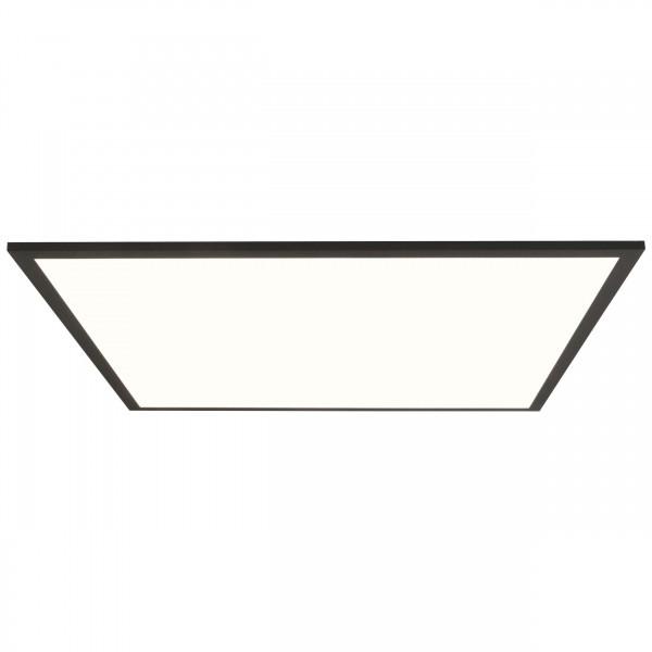 Brilliant G90357A26 Buffi Deckenaufbau-Paneel 60x60cm Metall/Kunststoff sand schwarz