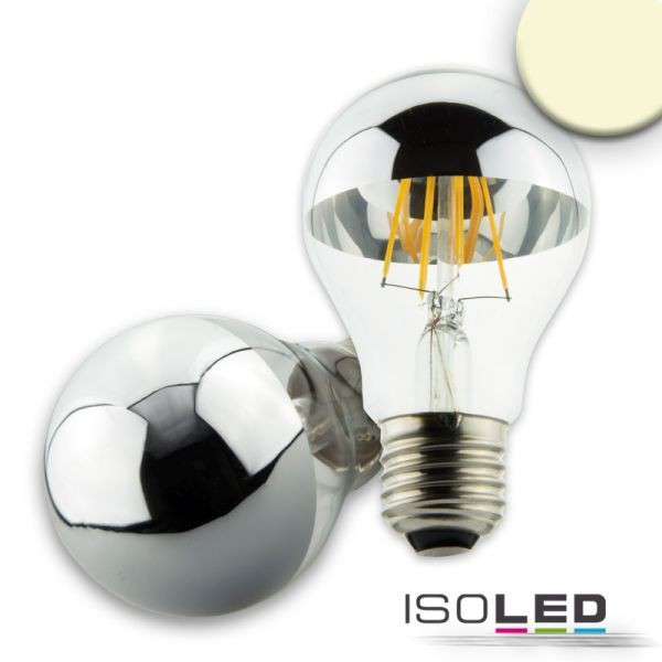112595 E27 LED Spiegelkopf, 4W, klar, warmweiß