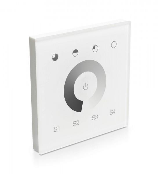 Smart Home Unterputzsteuerung Touchpanel Zigbee SR Serie einfarbig
