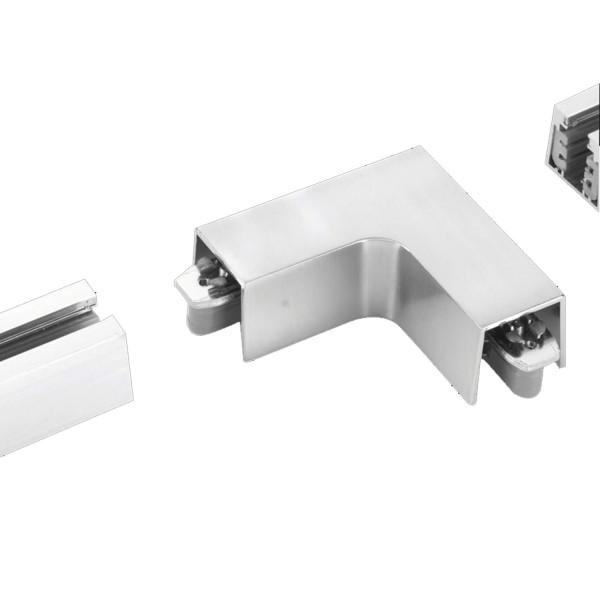 M6 Licht / HV-Track4 24540 Stromschienen - Verbinder nickel matt