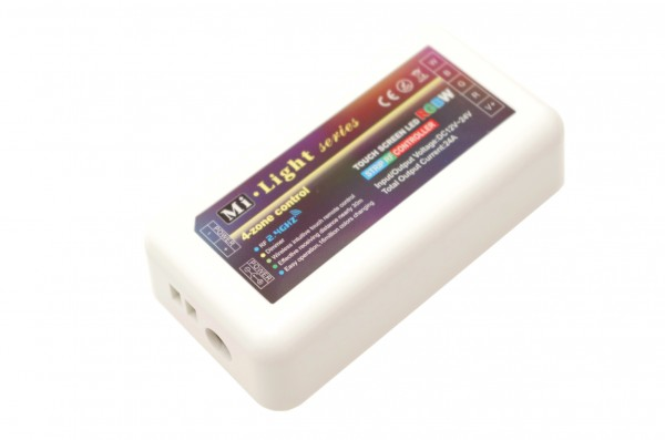 LED Universum 4 Zonen Funkcontroller für RGBW LED Streifen
