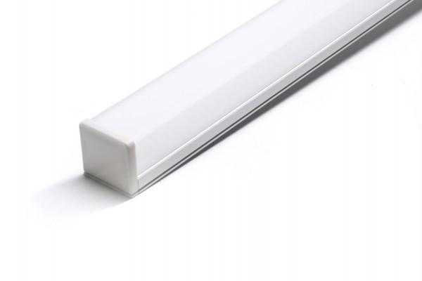 LED Universum Aluminium U Profil 1m Länge 26 x 10mm
