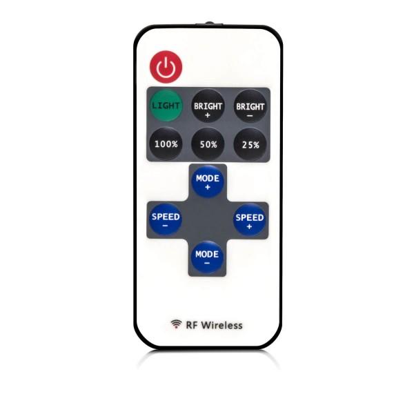 3-Kanal 11 Tasten IR Fernbedienung Controller für einfarbige LED Streifen