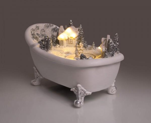 LED Deko Badewanne Szenerie | Deko | Dekoration | Weihnachtsdeko| Batteriebetrieben