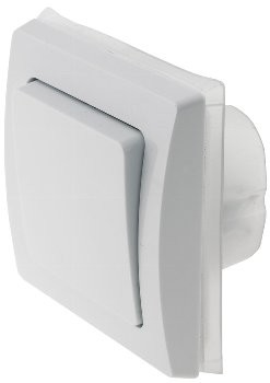 DELPHI Wechsel-Schalter IP44 250V~/ 10A, inkl. Rahmen, UP, weiß