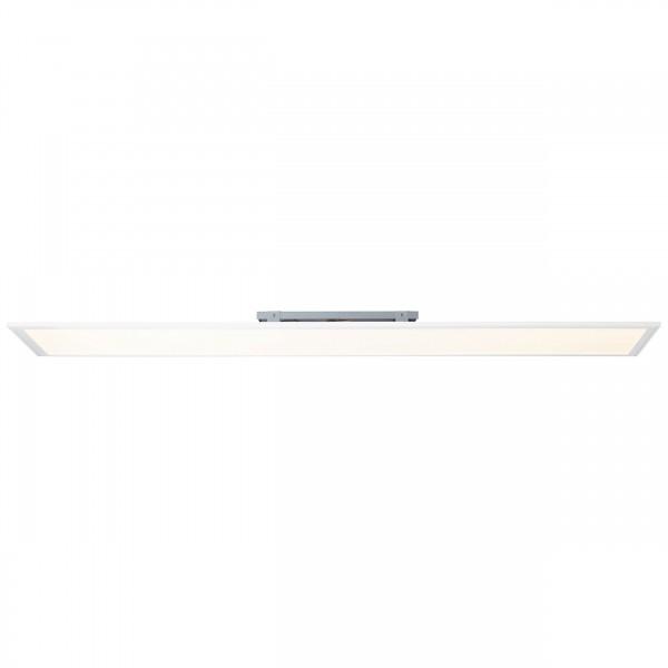 Brilliant G90320/05 Abie Deckenaufbau-Paneel 120x30cm RGB Metall/Kunststoff weiß