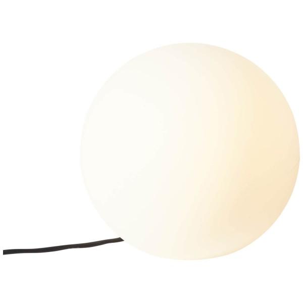 Brilliant 96340/05 Garden Außen-Lichtkugel 30cm Kunststoff weiß